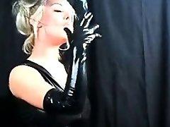 Nice Titty Gal Smoking Hungry XXX