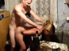 Russian Girlfriend Being Fucked At Home