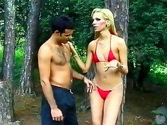 Visok, Blond Brazilski Shemale