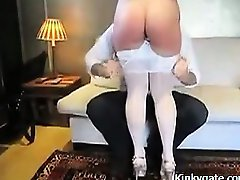 Insane Ass Spanking for my sub wife