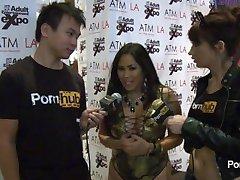 PornhubTV Jessica Bangkok Interview at 2014 AVN Awards