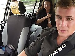 CzechTaxi Multiple Female Orgasm in the Backs