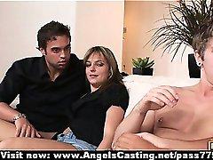 Quarteto swinger festa de sexo quente com mulheres fazendo boquete e fodeu