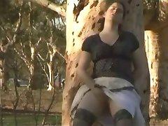 zafira bating in public