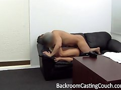 Reluctant Assfuck and Creampie Casting