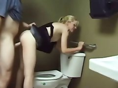 Fucked by the toilet