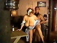 Maid massive tits