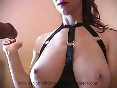 Mistress likes to be in control of her boy toy's orgasm