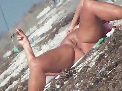 grčki plaža pussy