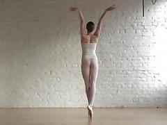 nude ballerina