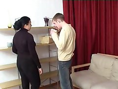 NastyPlace.org - Young guy fucks best friends mom in ass