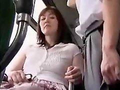 masturbare pe autobuz