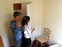 Hidden cam in german hotelroom