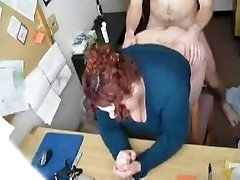 HOT FUCK #57 (Sandy-haired BBW Secretary in the Office)