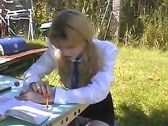 Claire etudiante defoncee en Double A75