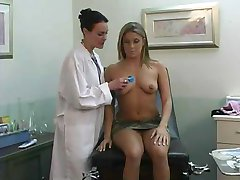 Doctor in white bra pt 13