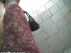 Weibliche Toilette-Spion-Kamera 03.