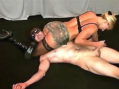 Wrestling Handjob