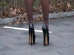 Zdrava - njemački nedostatak visokih potpetica - Zigaretten austreten