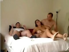 Amateur - Nice Mature Homemade MMF Threesome