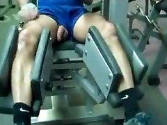 Str8 papà allenamento in palestra