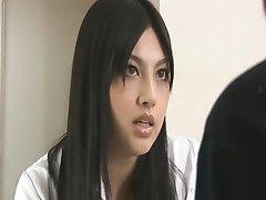 Hot Asian Doctor Handjob