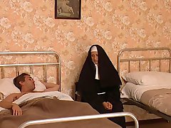 Italien Religieuses Baisée
