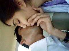 Girlfriend Lip Kiss