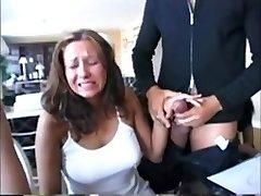 Compilation Hot nymphs reacting to big hard-ons