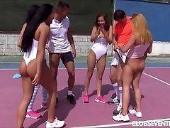 Teen tennis porn fuck-fest