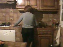 Het dagelijks leven van een rijpe huisvrouw