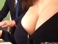 Busty Teacher Ruri Saijo tit message