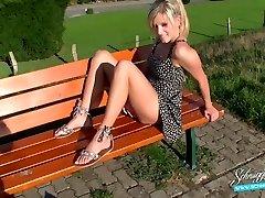 Público Creampie Extremo Arriesgado! Rubia Alemana Schnuggie91