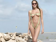 Silvie Deluxe vihreä bikinit