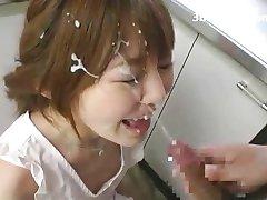 Los Asiáticos Chorro De Corridas Faciales - Japonés