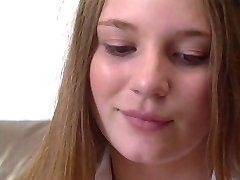Pretty Teen Aurora Snø: Universitetet Coed