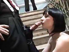 恋物癖到tattoed黑发HC三人肛门-L1390-