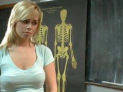 Tara ass disciplined fucked by professor