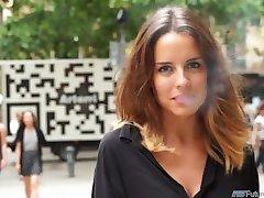 2 Minuuttia Esikatselu [Tupakointi Fetissi] Lidia _quot_A Tupakointi espanjan Beauty_quo