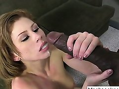 Ugly whore fucked by black monster