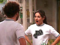 Mila Kunis That 70s Show Cheerleader compilation
