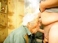 la cara follando abuelo