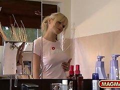 MAGMA FILM German Lesbos taking a bath