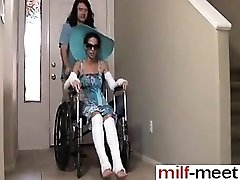 Horny Not Sonnie Ravages Not Mother in Wheelc - She is on Milf-ME