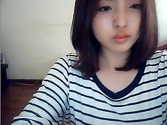 korean nymph on web cam