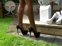 LGH - Tamia Outdoor Fucking High-heeled Slippers
