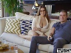 TUSHY Prvi Analni Za Ukrivljenih Natasha Lepo