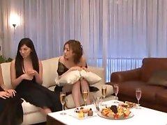 Asian Group Sex Orgy