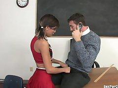 Bad Girl Cheerleader Fickt Ihr Lehrer