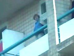 balcony voyeur